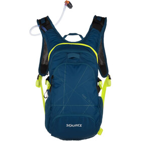SOURCE Fuse Trinkrucksack 12 Liter dark blue/green